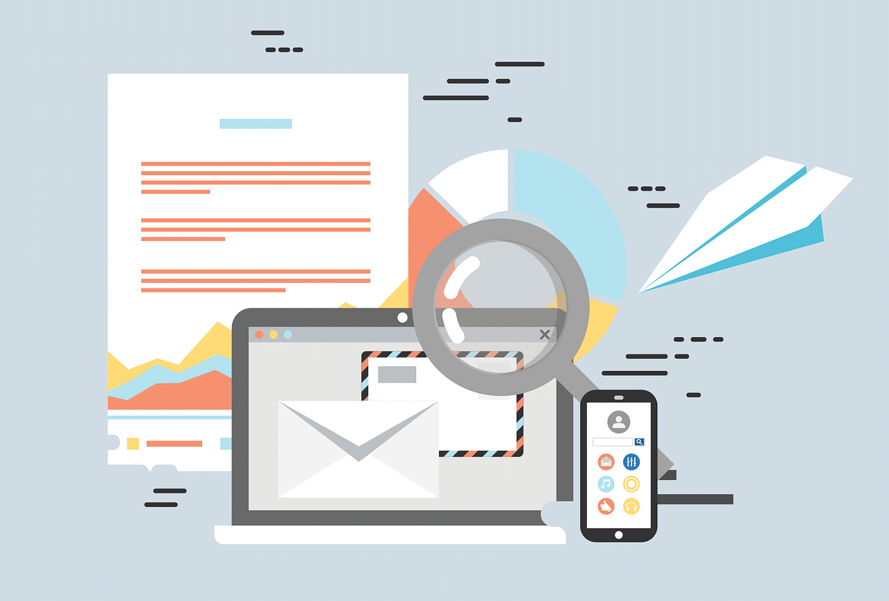 computer and email marketing