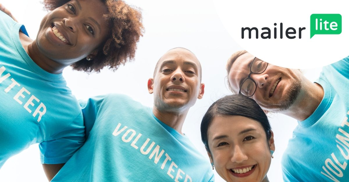volunteers at a nonprofit