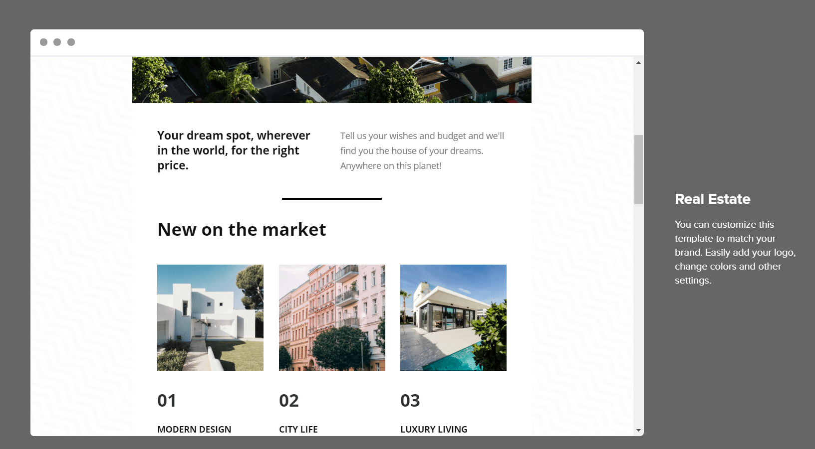 email newsletter for real estate