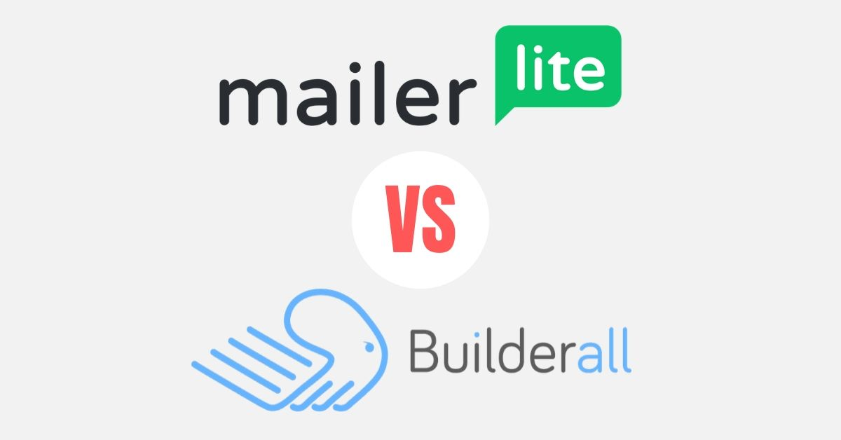mailerlite and builderall logo