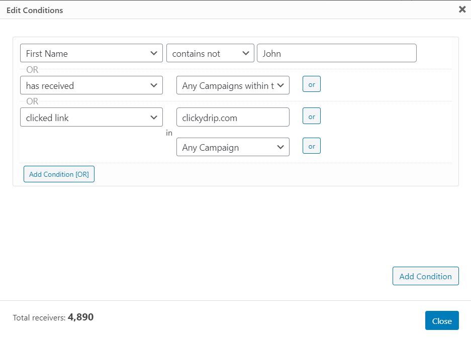 segmentation in mailster