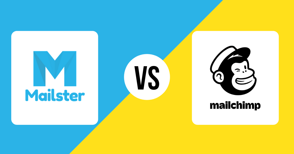 mailster and mailchimp logos