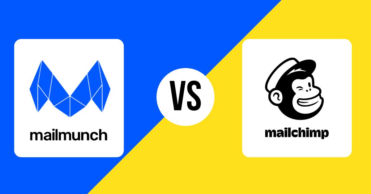 mailmunch and mailchimp comparison