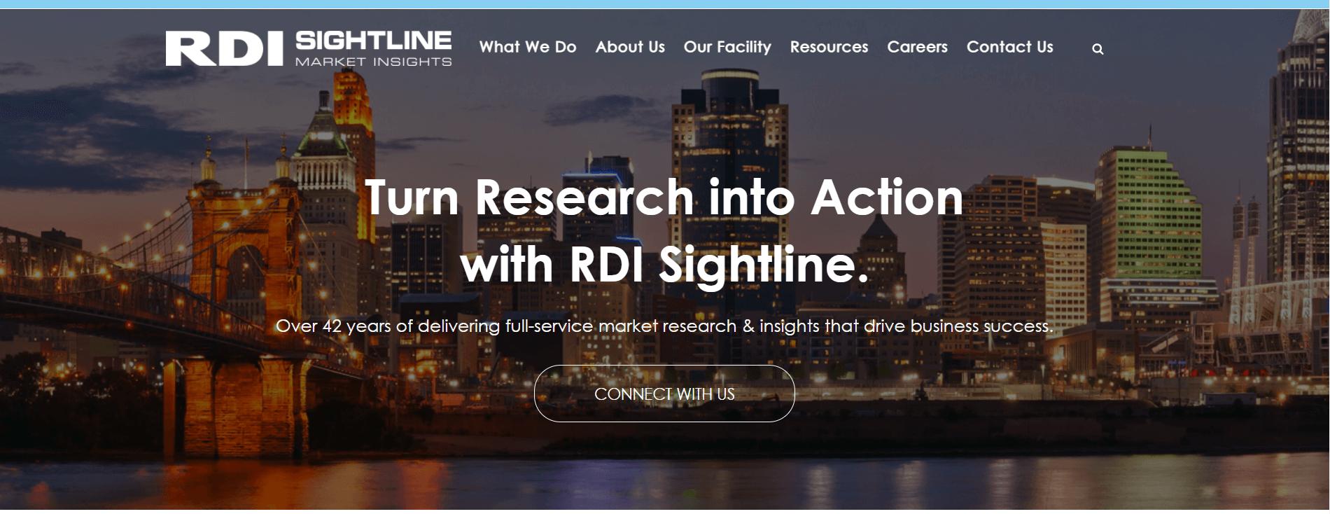 RDI sightline home page