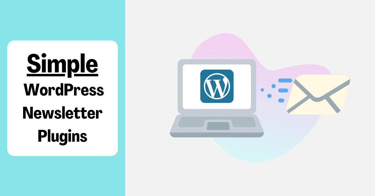 graphic of wordpress email marketing