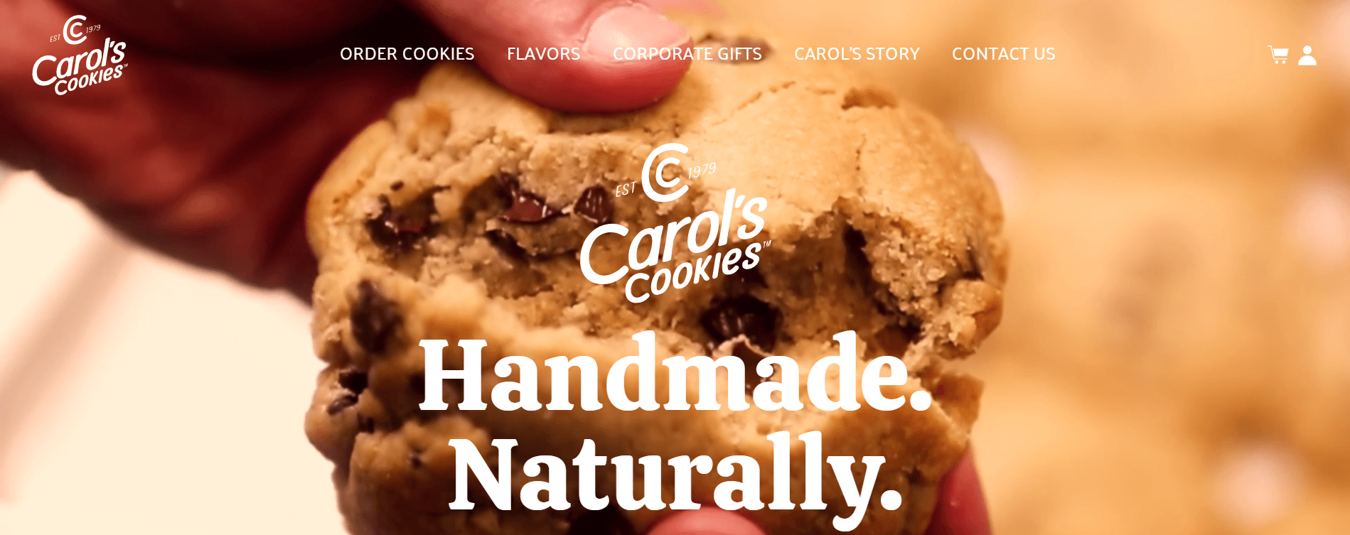 carols cookies home page