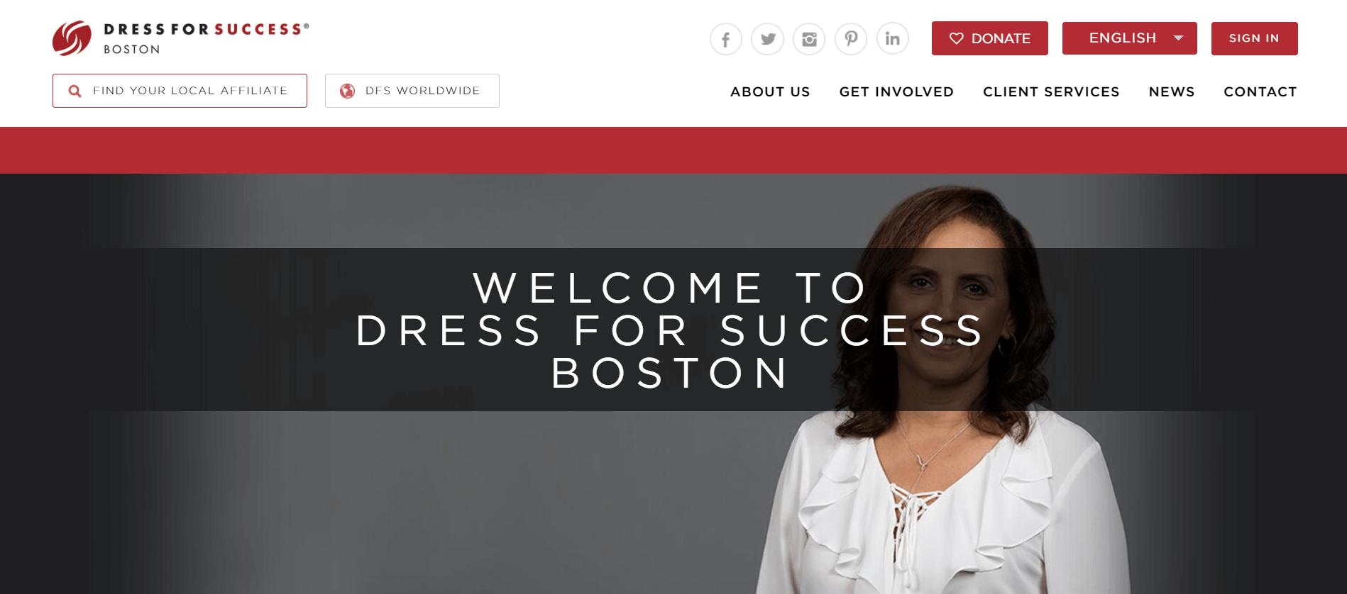 dress for success home page