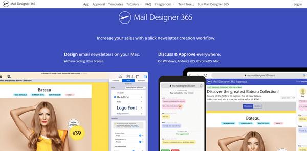 maildesigner365 website home page