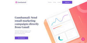 Gumbamail home page