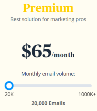 Sendinblue premium pricing