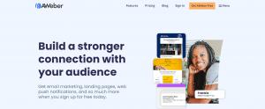 aweber home page