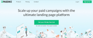 pagewiz for landing pages