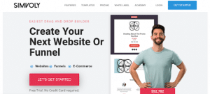 simvoly for landing pages