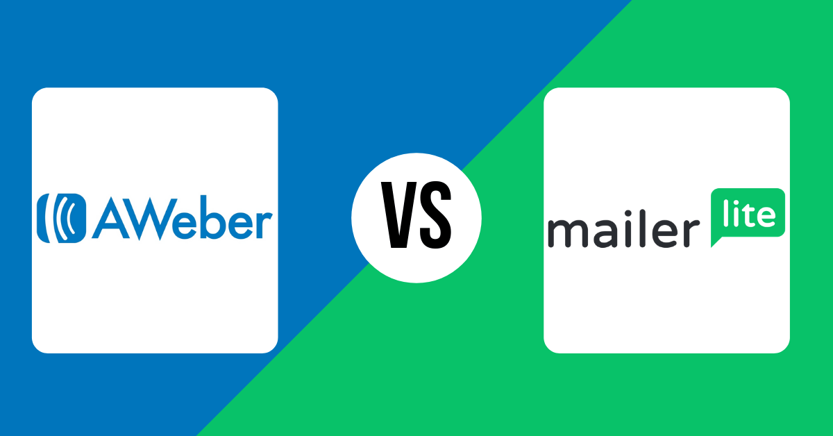 Aweber vs Mailerlite
