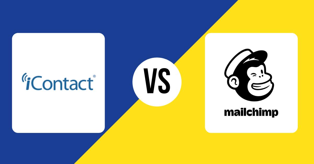 iContact VS Mailchimp