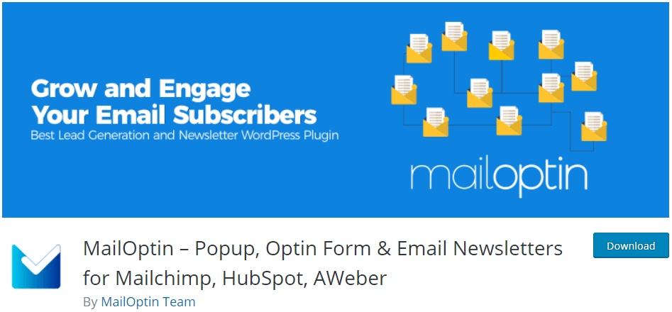 mailoptin on wordpress.org