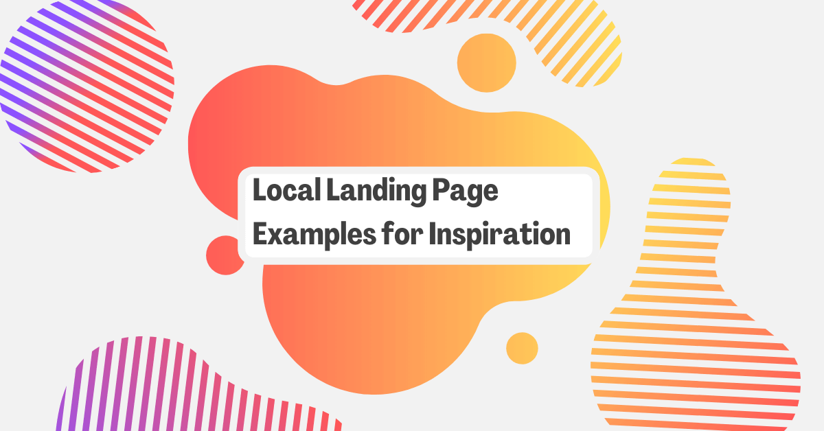 15 Local Landing Page Examples for Inspiration