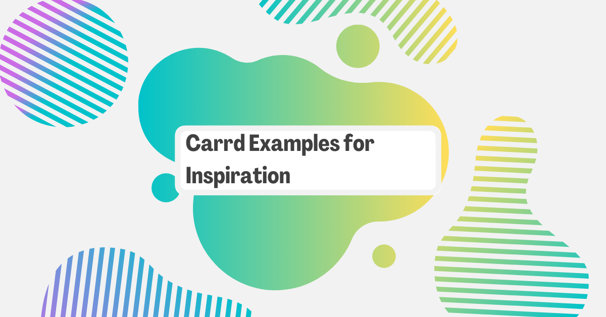 29 Carrd Examples for Inspiration
