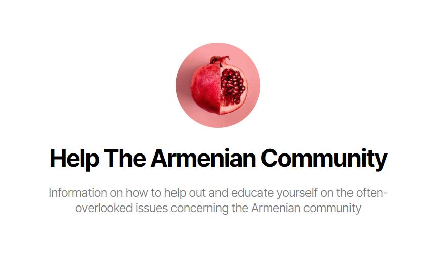Help the Armenian Community