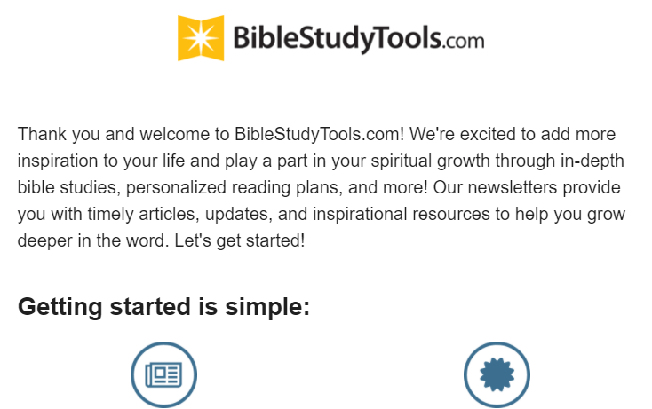 bible study tools email