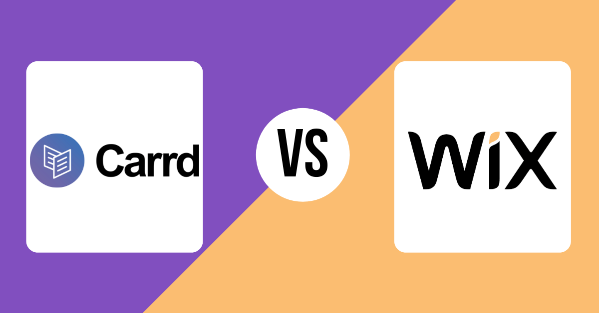 Carrd vs Wix