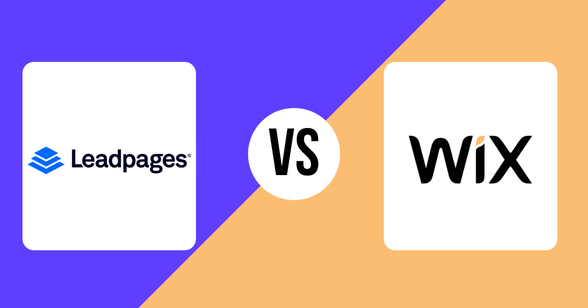 Leadpages vs Wix